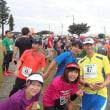 2017キャンプキンザーハーフマラソンの基地内への入場はFM沖縄近くのゲートです。