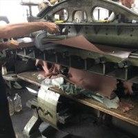 革の漉き加工