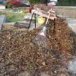 「押切」を使ってサツマイモ蔓の堆肥化に挑戦。