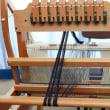 今日も手織り織機の準備です     竹島クラフトセンター