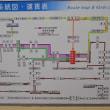 まち歩き府0913 阪急バス 東向日駅の路線図  向日市観光史跡案内