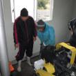 東浜排水機場のポンプ試運転説明会を行いました。