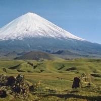 カムチャツカの火山