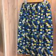 プチプラ5分袖ニットと派手なスカート、前向きになれるシロクマ