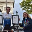 自転車で「79日間世界一周」で、世界記録達成!