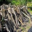 ほだ木崩れを補修