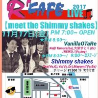【meet the Shimmy shakes】明日です♪