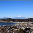 長勝寺の名残り紅葉、富士山