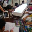 チームラボ☆アート展と、新世界『透明標本展』@高知県立美術館