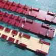 室内の床を塗る 鉄コレ阪神3011形の色差し(その2)