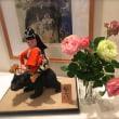 金太郎と5本のバラ