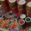 芸術の秋 超軽量ポテチツール缶をオサレにしたい