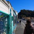 稲村ヶ崎(1) 山下ごとう小児科内科でインフルエンザの予防注射して散歩して七里ヶ浜のパシフィック・ドライブインでビール