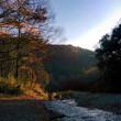 月川荘で紅葉デイキャンプ  平成26年12月10日(木) 晴れ