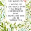 ハッピーになるための簡単な7つの秘訣