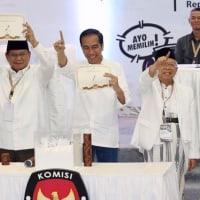 インドネシア史上初の同日選は混乱なし!