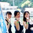 今治市の大三島で三島水軍鶴姫まつりが行われました