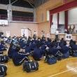 小中学校合同の原子力防災訓練を実施しました。
