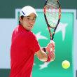圭君、粘って16強!2016バリバオープン3回戦