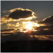 今日の夕方の空模様