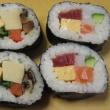 今年の巻き寿司