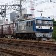 盆休み中の貨物列車撮影