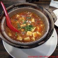 大阪難波ナンバウォークにて激辛麻婆豆腐を食べる
