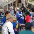 「50万本のコスモス満開」、「村祭り」も開催。