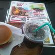 Burger&Coffeeで昼食
