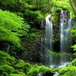 スッカン沢素簾の滝へ