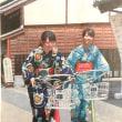 キモノバイクでGO!