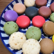 カラフルなお菓子  マカロン&焼き菓子