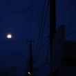 スーパー残月、西空の輝き!!