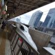 高齢の母を送りに東京駅へ