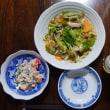 中華風ー海老マヨ+鶏と夏野菜のレンジ蒸し