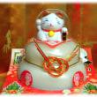 鏡開き(^^♪とっつあんちの仏壇と三宝さんと家の中心(歳神さん)に飾ってあった、小さな小さな可愛い「鏡餅」