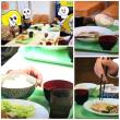 ご飯茶碗と味噌汁