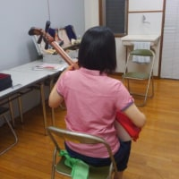 平成29年9月第2回目の西湘地区火曜教室へ。
