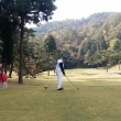 久々のゴルフ
