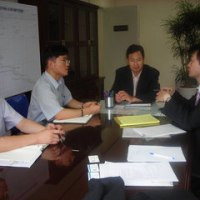 韓国中央選挙管理委員会事務総長・金容熙氏表敬訪問