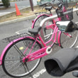ピンクの自転車その2