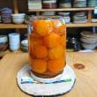 金柑の甘露煮&セミノールのマーマレード♪  & いただきもの・・・モンブティココの抹茶ロール♪  &  夕べのお好み焼き~♪