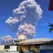 スマトラ島シナブン山 過去最大の爆発!噴煙5km