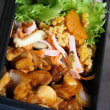 12月4日  鶏肉の ハンバーグソース弁当