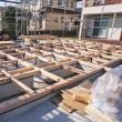 良い家を造って売りたいプロジェクト! 『 なんとなく中庭みたいなHOUSE 』⌂Made in 外房の家。は21日(水)の上棟に向けて土台据付無事完了です!が・・・