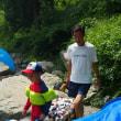 高槻市の摂津峡に川遊びに行って来ました。(TT)