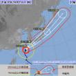 台風24号本州縦断の必至