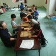 9月23日和光児童会館の子供教室の風景。