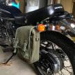 CB400SS  サドルバッグ移設
