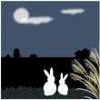 お月見うさぎ
